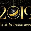 Bonne année 2019 avec le Groupe 2V SERVICES