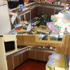 Suite au débarras et à la desinfection d'une cuisine