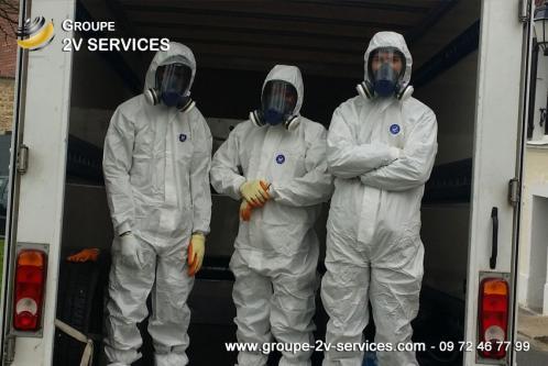Le nettoyage après décès nécessite des protections