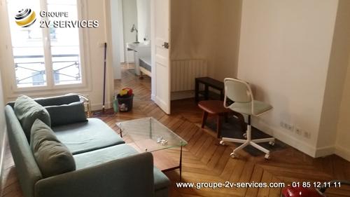 Le nettoyage d'un appartement avant emmenagement