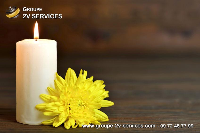 Nettoyage après décès - 2V SERVICES est votre  votre solution