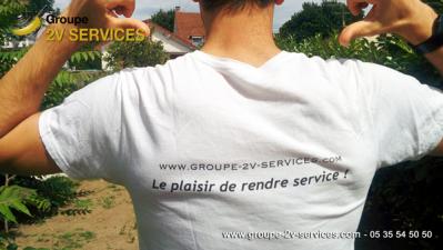 2v services entreprise proprete gironde