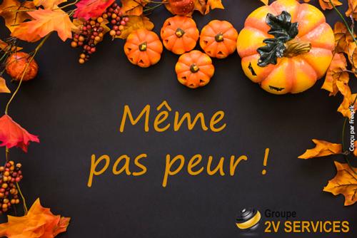 2v services halloween meme pas peur