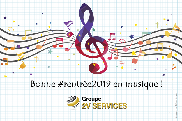 Bonne rentree 2019 musique 2v services
