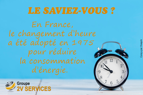 Changement heure hiver 2v services