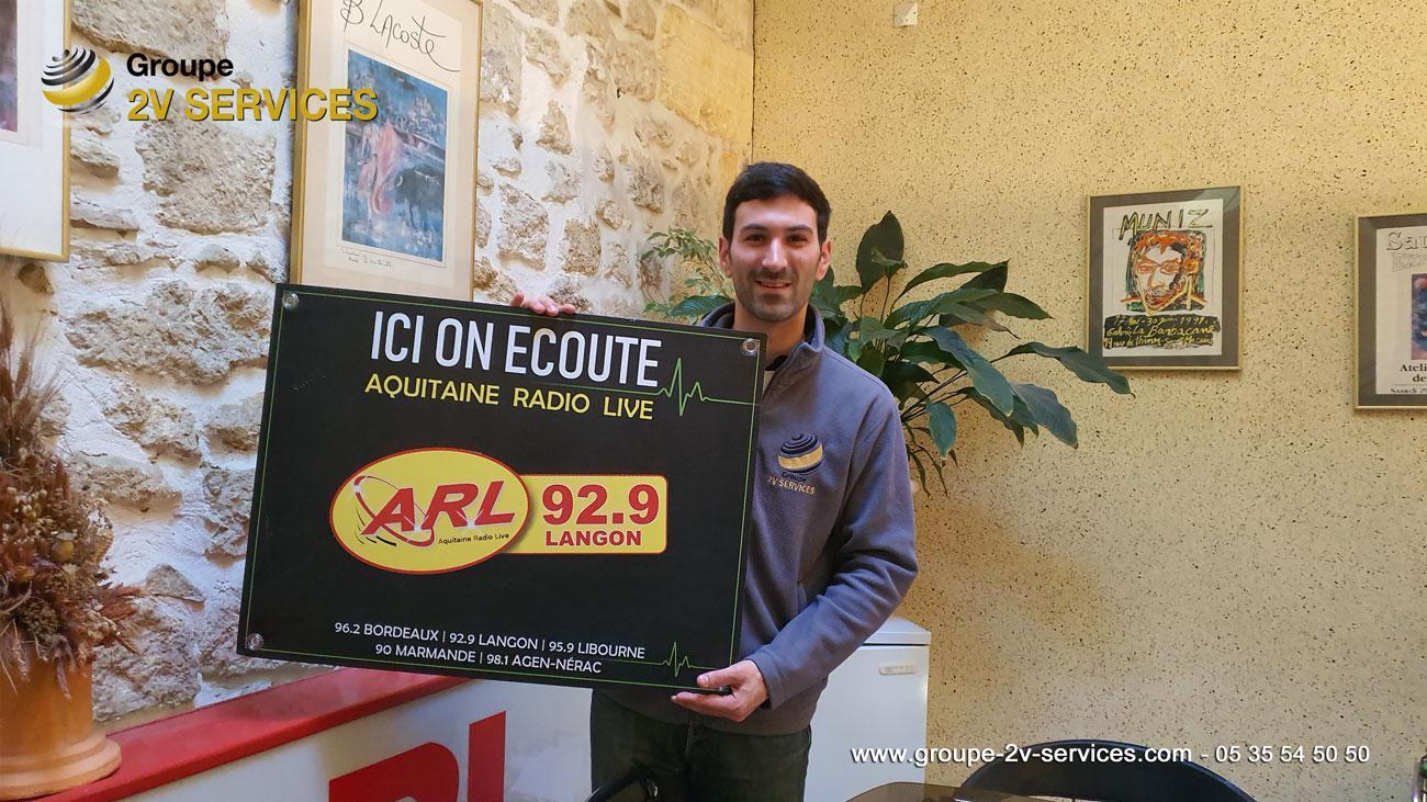 Ecoutez Aquitaine Radio Live ARL en Gironde