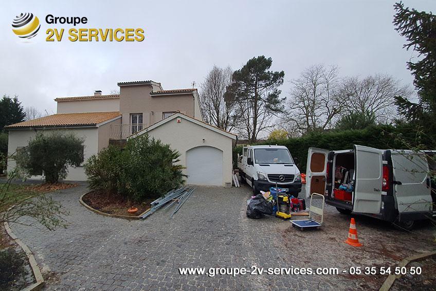 Entreprise nettoyage fin chantier maison merignac