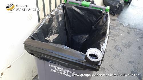 Entretien immeuble sortie poubelles paris 20