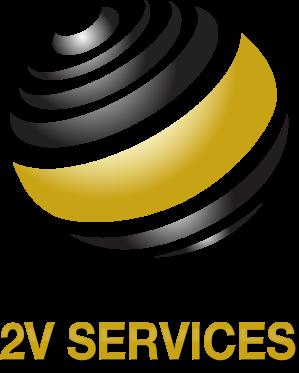 Logo 2v services rvb
