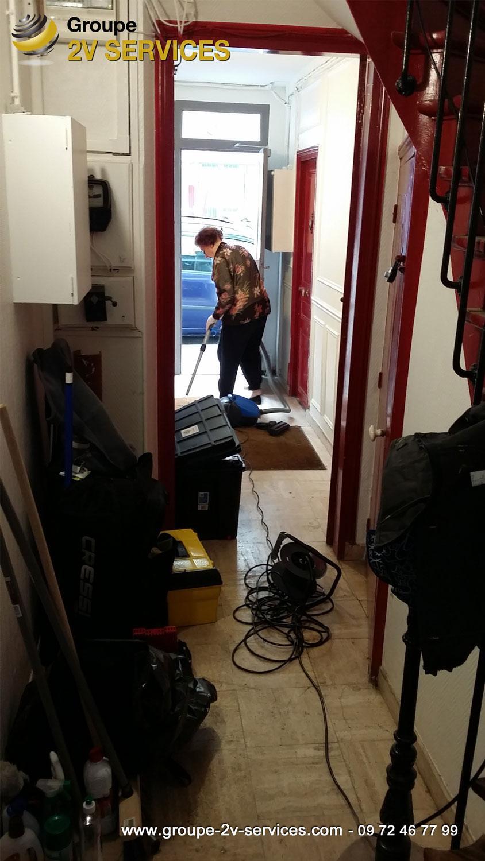 Grande nettoyage : lancement d'un nouveau contrat d'entretien de residences en Ile-de-France (mise en place kit d'entretien avec produits écologique, fiche de pointage, etc.)