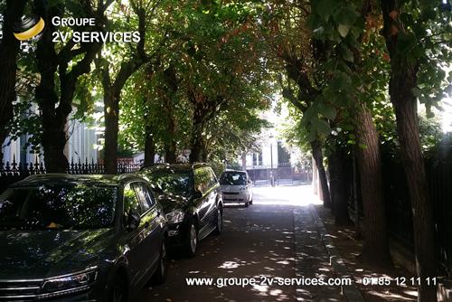 Nettoyage entretien exterieurs residence trottoirs voirie caniveaux