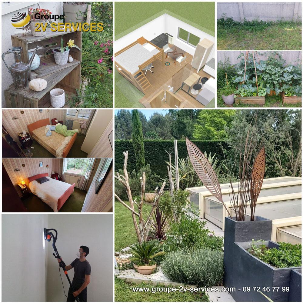 Pôle Amenagement : prestation de rénovation, transformation et embellissement de vos intérieurs et extérieurs