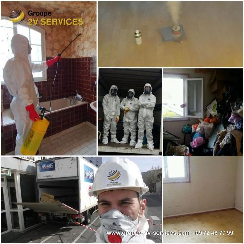 Pôle Débarras-Désinfection : prestations ponctuelles de désencombrement, décontamination, désinsectisation et remise en état de logements et tous types de locaux