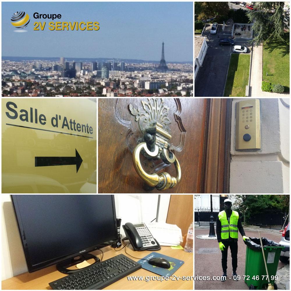 Pôle Entretien : prestation récurrentes d'entretien d'immeubles, logements et autres locaux d'activité