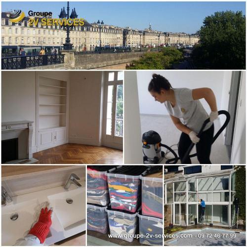 Pôle Nettoyage : prestations ponctuelles de nettoyage de logements et locaux