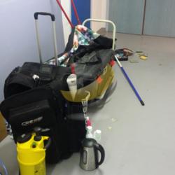 Le kit de nettoyage