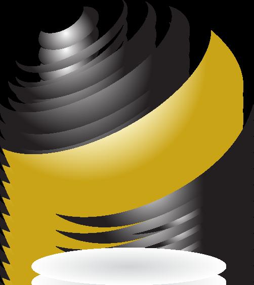 2V SERVICES - Logo ombré