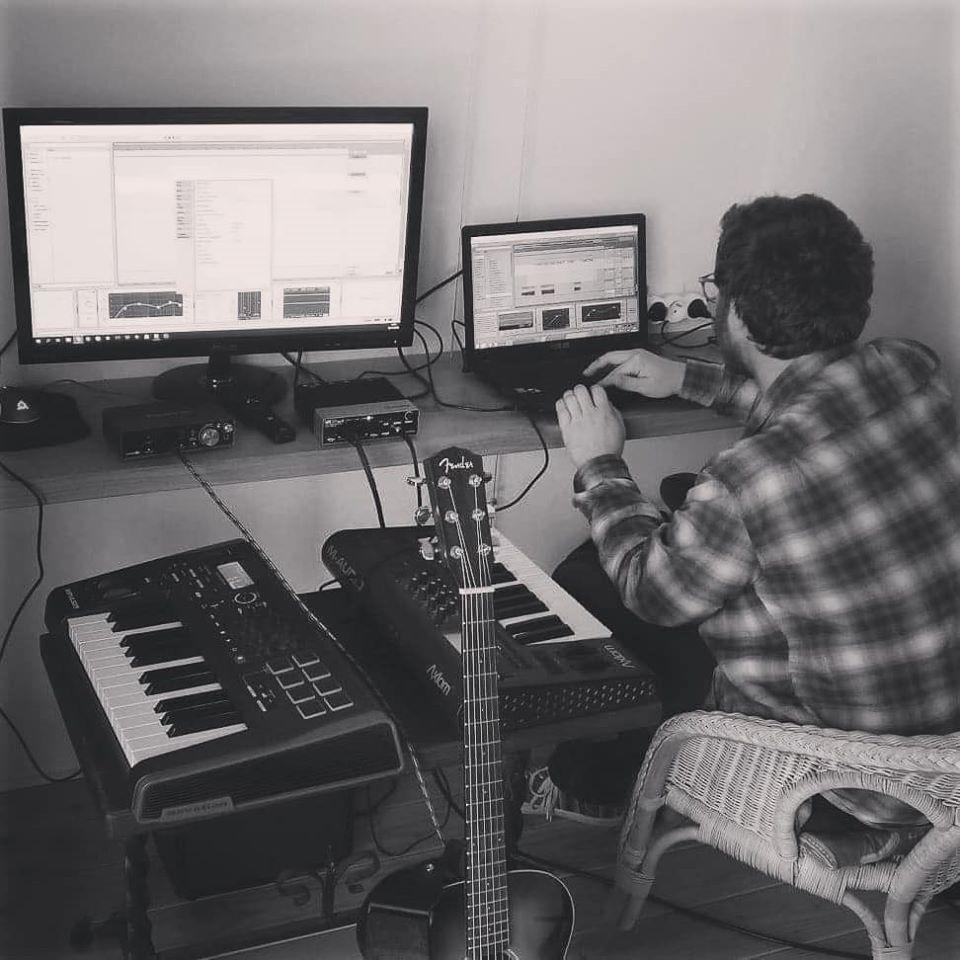 Studio d'enregistrement de ALIBI Musique avec Kenrick