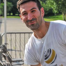 Vincent Viarouge après les 5 km